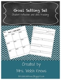 Goal Setting, Student Reflections, and Data Graphs Set