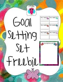 Goal Setting Set Freebie