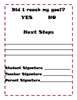 Goal Setting Sheet (Academic or Personal)