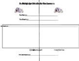 Goal Setting Sheets