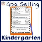 Goal Setting and Tracking Sheets for Kindergarten