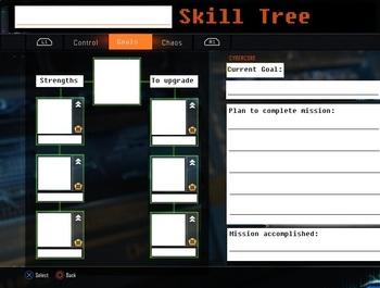 Goal Setting Skill Tree