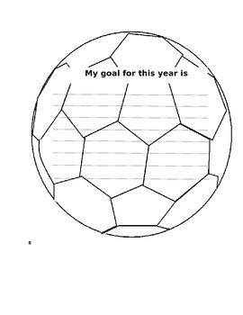 Goal Setting Soccer Ball