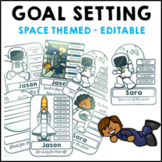 Goal Setting Space Themed Common Core Writing and Math