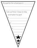Goal Setting Star Pennant