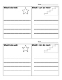"Goal Setting ""Stars and Stairs"""