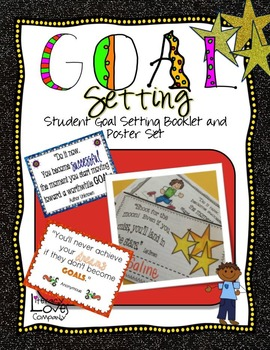 Goal Setting Student Booklet and Poster Set
