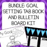 Goal Setting Tab Book & Bulletin Board Kit - Librito de me
