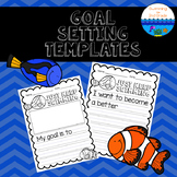 Goal Setting Template ~ Just Keep Swimming!