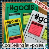 Goal Setting Templates Editable for All Subjects