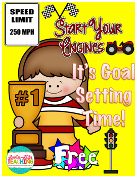 Goal Setting Through the Year Sample- January- FREEBIE of