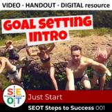 Goal Setting Lesson Handout Video ▶️ SEOT 001: Just Start