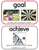 Goal Setting Vocabulary