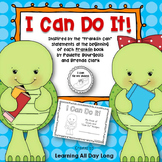 "Goal Setting With Basic Skills: ""I Can Do It!"""