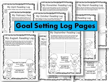 Goal Setting With Reading Logs: Superhero Edition!