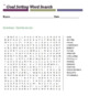 Goal Setting Word Search