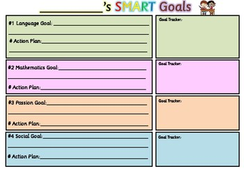 Goal Setting Worksheet Freebie