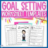 Goal Setting Worksheets, Templates, Data Tracking, Award C