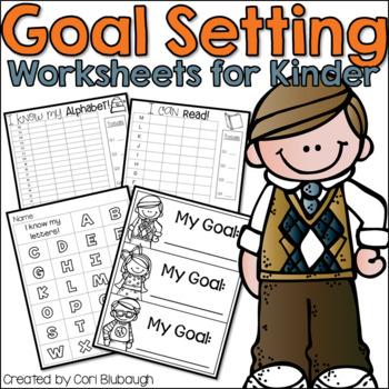 Goal Setting Worksheets for Kindergarten