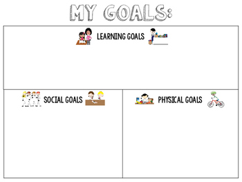 Goal Setting Writing Craft for Special Education