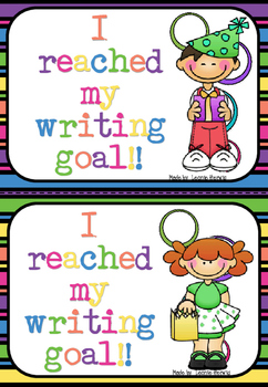 Goal Setting – Writing - free