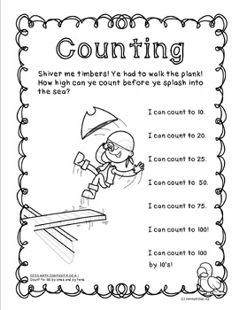 Goal Setting and Data Collection: Be a Math Pirate!
