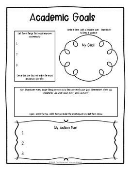 Goal Setting and Data Folder