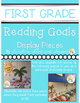 Goal Setting and Data Tracking for First Grade