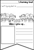 Goal Setting and Growing Up Bunting Activity