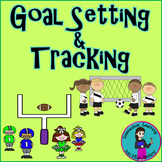 Goal Setting and Monitoring {Football AND Soccer themes}