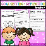 Goal Setting and Reflection Freebie