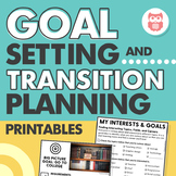 Goal Setting and Transition Planning Printables for Speech