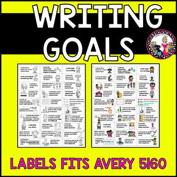 Goal Setting Labels