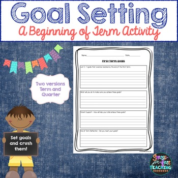 Goal Setting for the Year
