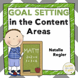 Goal Setting Sheets For Students - Content Area Skills Assessment and Reflection