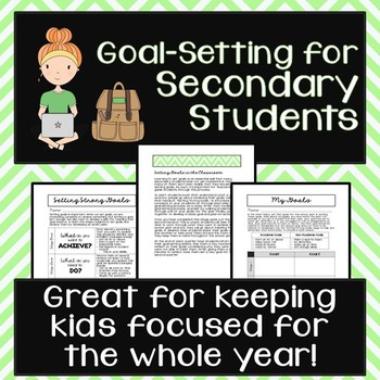 Goal-Setting with Secondary Students