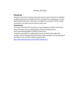 Goal Sheet Behavior and Academics