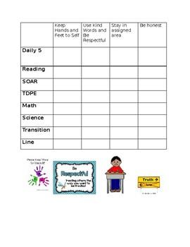 Goal Sheet *editable*