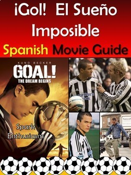 Goal The Dream Begins Movie Packet in Spanish/Gol El Sueno Imposible