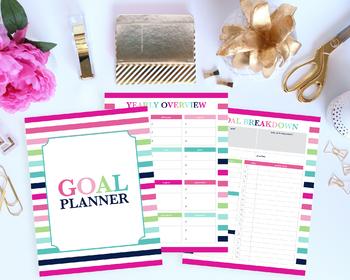 Goal Tracker, Goal Planning, Goal Setting, Goal Planner