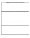Goal Tracking Worksheet