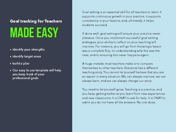 Goal Tracking e-book