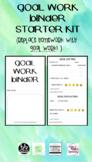 Goal Work - Homework Binder