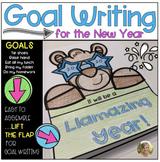 Goal Writing {Llama} Happy New Year Kindergarten & First Grade