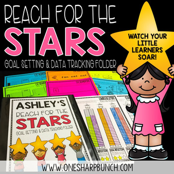 Goal and Data Binder - Reach for the Stars