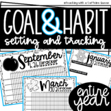 Goal and Habit Tracker for a FULL Year