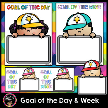 Goal of the Day and Week