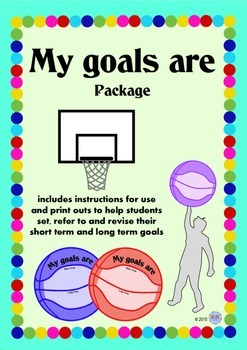Goal setting Basketball Printables - Shooting Long Term & Short Term Goals