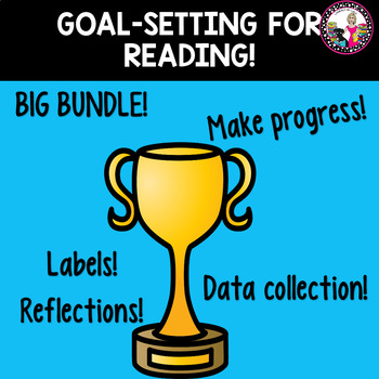 Goal-setting Labels for Reading! BIG BUNDLE!