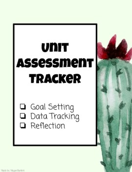 Goal setting and Reflection (Student page)